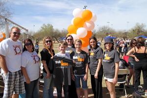 2012 AZ Walk Participants