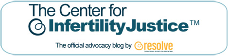 Center for Infertility Justice Blog Logo