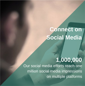 Connect on Social Media Image