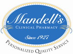 Mandell's Clinical Pharmacy Logo