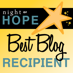 2014 Hope Award for Best Blog Recipient Image