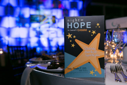 Night of Hope Table Setting