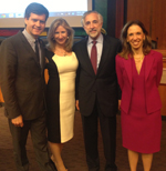 Senator Hoylman Assembly Member Paulin, Dr Grazi and Risa Le
