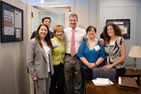 Senator Brown with Massachusetts Advocates