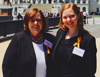 Elizabeth Walker and her Mom at Advocacy Day