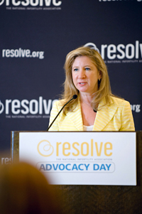 Risa A. Levine Speaking at Advocacy Day